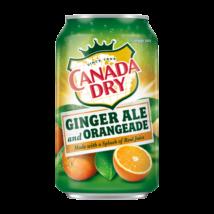 Canada Dry Ginger Orange - Narancs (355ml)