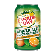 Canada Dry Ginger Orange - Narancs (355ml)