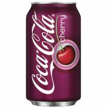 Coca-Cola Cherry 330ml (cukrozott)