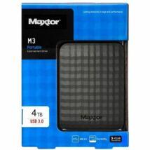 """Maxtor M3 Portable 2,5"""" 4TB USB3.0 külső merevlemez, fekete"""