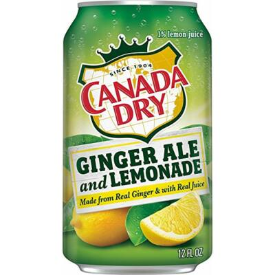 Canada Dry Lemonade - limonádé (355ml)