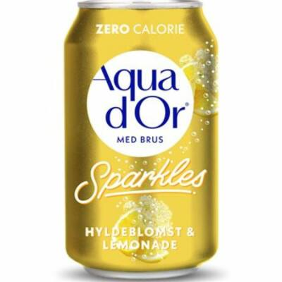 Aqua d'Or Hyldeblomst and Lemonade (bodza, citrom) 330ml