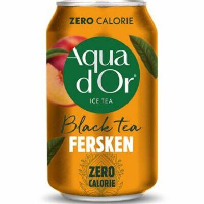 Aqua d'Or Black Tea Peach 330ml