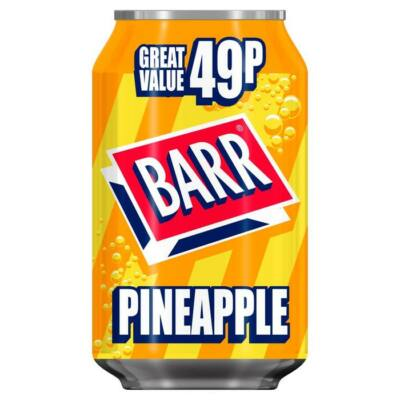 BARR Pineapple 330ml