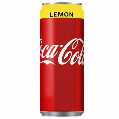 Coca-Cola Lemon (CUKROZOTT) 330ml