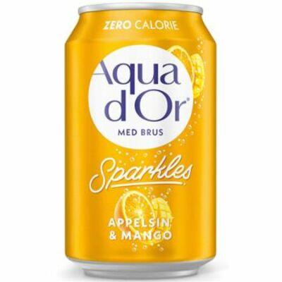 Aqua d'Or Narancs és Mangó 330ml