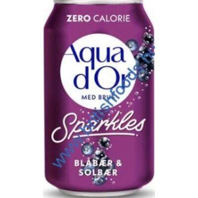 Aqua d'Or Szeder és Ribizli 330ml