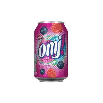 BARR omj! B.gyümölcs ízű üdítőital 0,33L