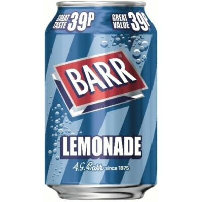 BARR Lemonade 330ml