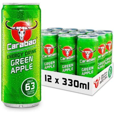 Carabao Energiaital Zöld Alma