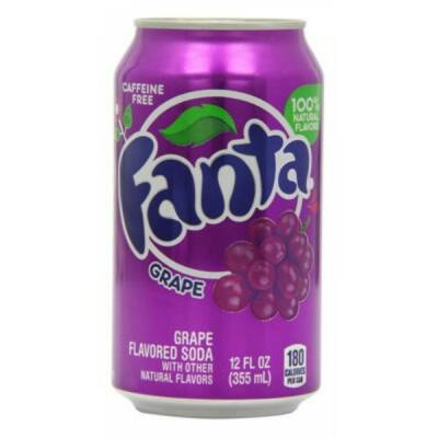 Fanta Grape Kékszőlő 355ml