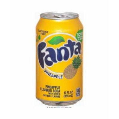 Fanta Pineapple - ananász üdítőital 330ml
