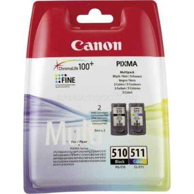 Eredeti Canon PIXMA 510-511 Multipack tintaparon szett