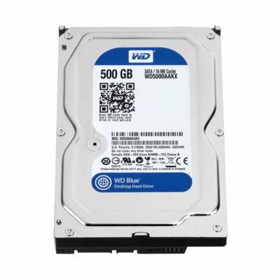 "500GB WD Blue PC HDD 2,5"" SATA belső merevlemez"