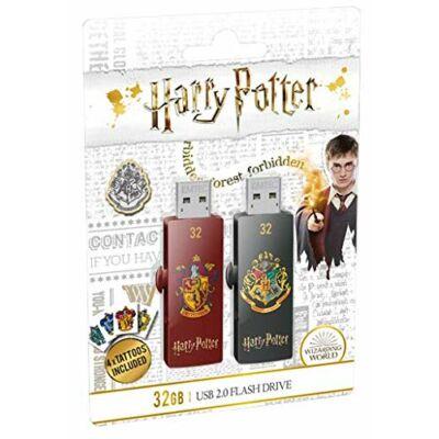 EMTEC 32GB M730 Harry Potter Gryffindor & Hogwarts Pendrive szett