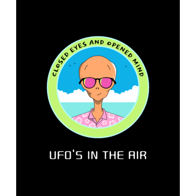 UFOs in the air