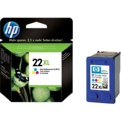 Eredeti HP 22XL fekete tintapatron