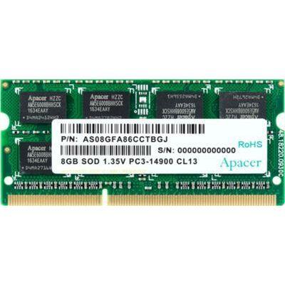 Apacer Notebook Memória DDR3 1333 8GB CL9 PC3-10600
