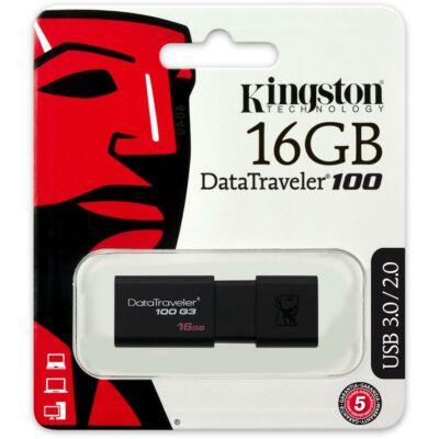 USB-Stick 16GB Kingston DataTraveler DT100G3 (black) retail