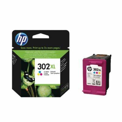 Eredeti HP 302XL színes tintapatron