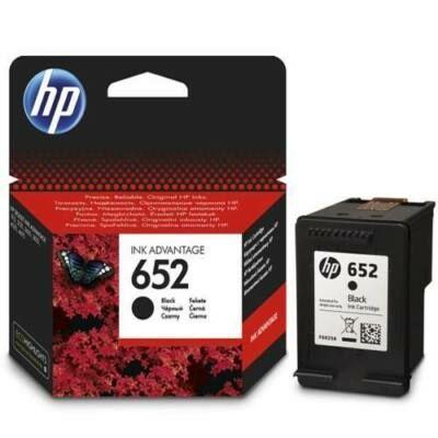 Eredeti HP Ink 652 fekete tintapatron