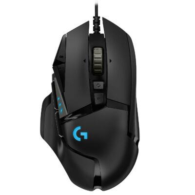 Logitech G502 HERO súlyozható gamer egér