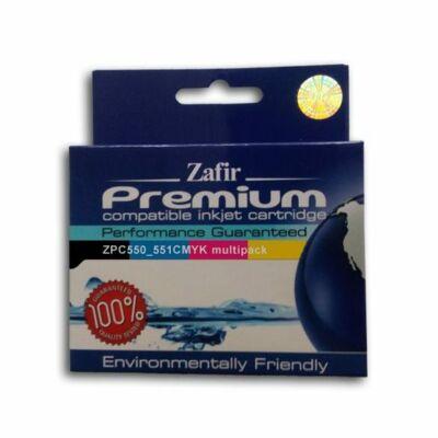 Utángyárott Zafír PGI550/CLI551 5in1 tintapatron szett
