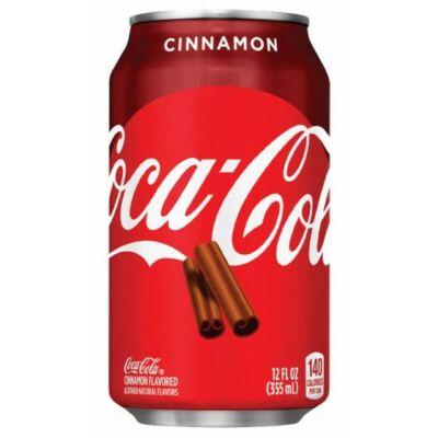 Coca-Cola Cinnamon fahéjas kóla 330ml limitált kiadás