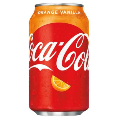 Coca-Cola Orange-Vanilla / narancsos vanilliás kóla 330ml