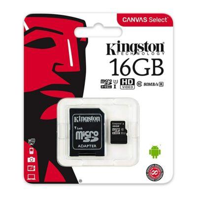 Kingston Canvas Select 16GB Micro SD