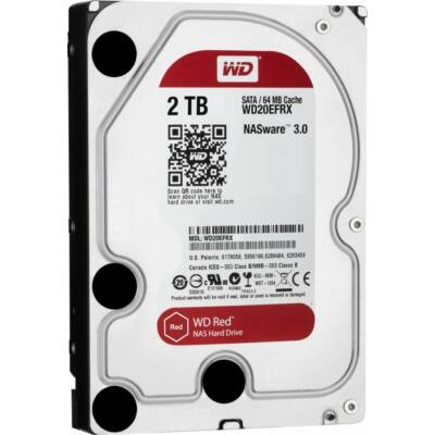 2TB, SATA6Gb, 64MB, 5400rpm, 24x7
