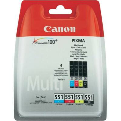 Eredeti Canon Pixma 551 Multipack tintapatron