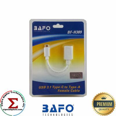 BAFO Type C to Usb átalakító 0,15m fehér