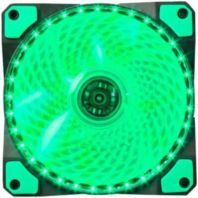 Marvo Cooler 12cm hűtőventillátor zöld