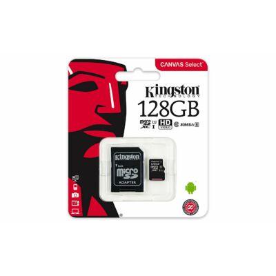 Kingston Canvas Select 128GB microSD kártya