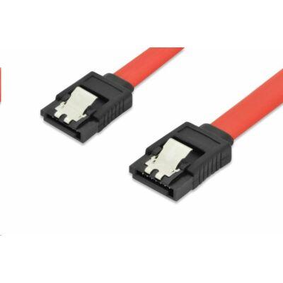 SATA kábel 0,5m piros