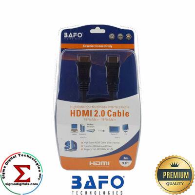 BAFO HDMI kábel 2.0 narancs 3m