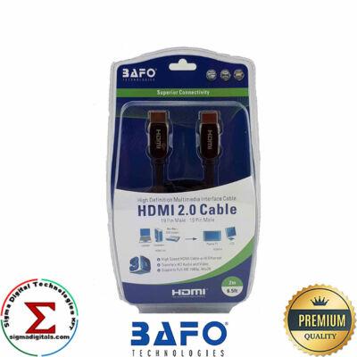 BAFO HDMI kábel 2.0 zöld 2m