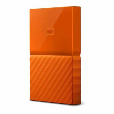 """WD My Passport 2,5"""" 2TB USB3 külső merevlemez, narancs"""