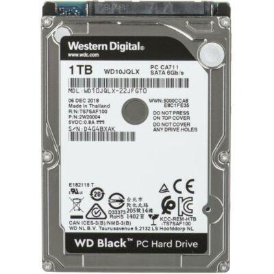 "500GB WD Black PC HDD SATA 2,5"" belső merevlemez"